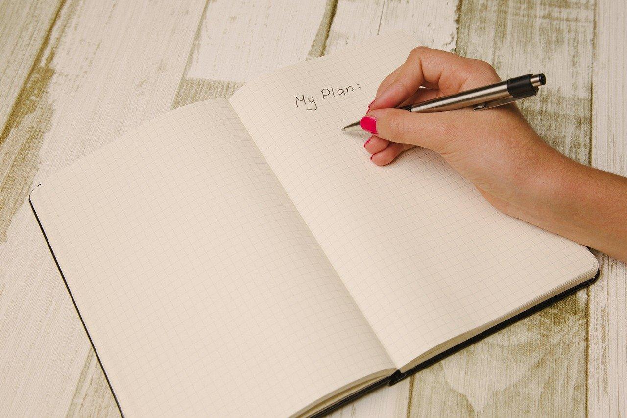 How I plan to write my books